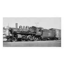Canadian National Locomotive Engine 92 Port Dover Photo Print