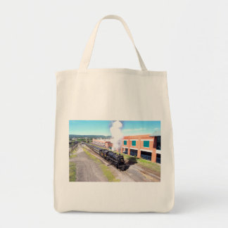 Canadian National Railroad 3254  Steam Engine Tote Bag