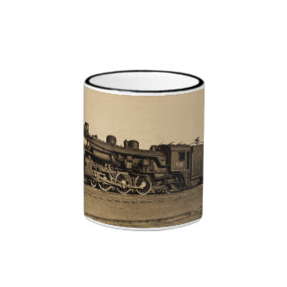 Canadian National Railroad Engine 5140 Ringer Coffee Mug