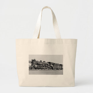Canadian National Railroad Engine 5148 Large Tote Bag