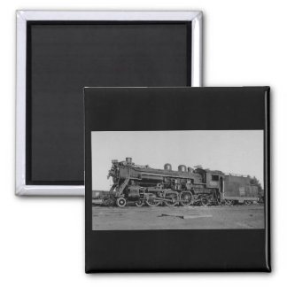 Canadian National Railroad Engine 5615 2 Inch Square Magnet