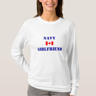 CANADIAN NAVY GIRLFRIEND T-Shirt