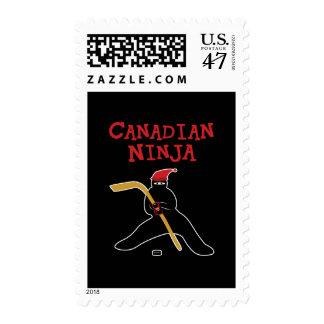 Canadian Ninja Postage