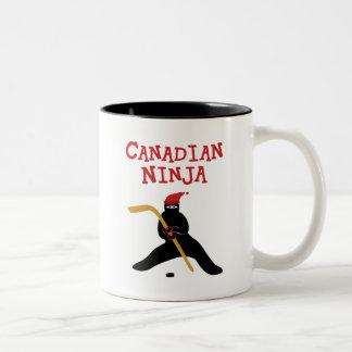 Canadian Ninja Two-Tone Coffee Mug