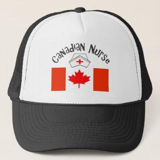 Canadian Nurse (Canadian Flag) Nurse Cap