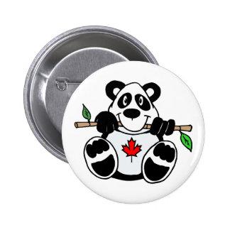 Canadian Panda Button