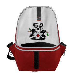 Canadian Panda Messenger Bag