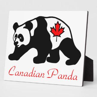 Canadian Panda Plaque