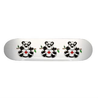 Canadian Panda Skate Deck