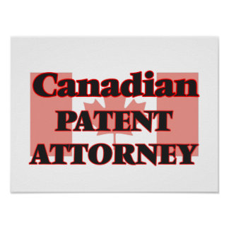 Canadian Patent Attorney Poster