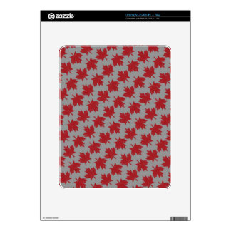 Canadian Pattern Decal For The iPad