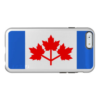 Canadian Pearson Pennant Silver iPhone Case