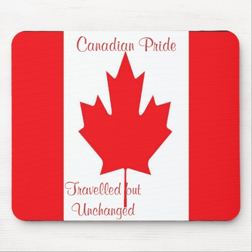 Canadian pide mousepads-canadian pride mouse pad