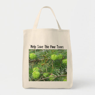 Canadian Pine Tree Bag