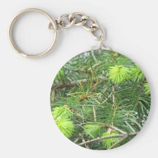 Canadian Pine Tree Keychain