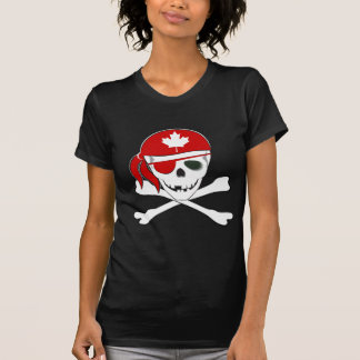 Canadian Pirate Tshirts