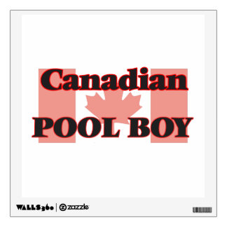 Canadian Pool Boy Room Graphic