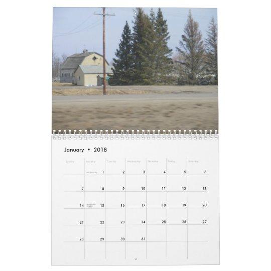 Canadian Prairies 2010 Calendar