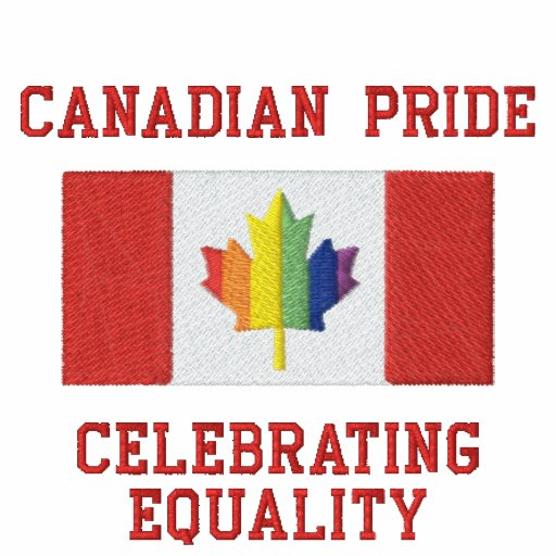 Canadian Pride - Celebrate Diversity Embroidered Shirts