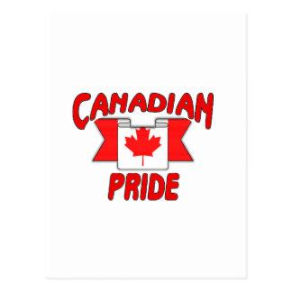 Canadian pride postcard