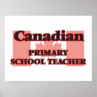 Canadian Primary School Teacher Poster