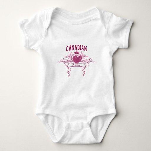 Canadian Princess Baby Bodysuit