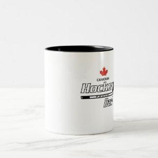 Canadian Proud Hockey Dad Mug