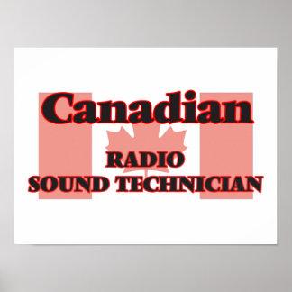 Canadian Radio Sound Technician Poster