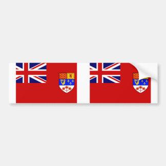 Canadian Red Ensign flag Bumper Sticker