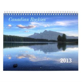 Canadian Rockies 2013 Calendar