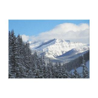 Canadian Rockies, Alberta, Canada Canvas Print