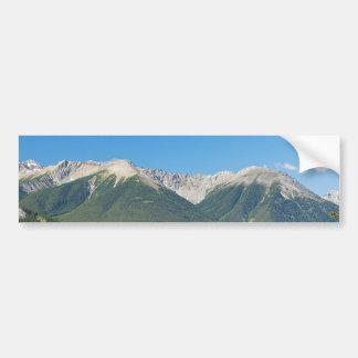 Canadian Rockies Bumper Sticker