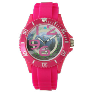 Canadian Rockies Girly Watch