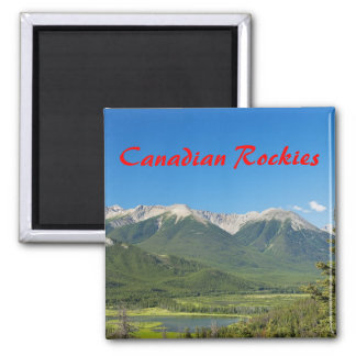 Canadian Rockies Magnet
