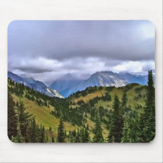 Canadian Rockies Mouse Pad