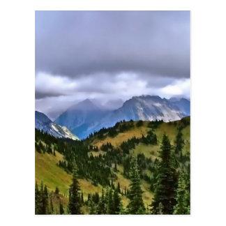 Canadian Rockies Postcard