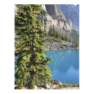 canadian rocky mountains postcard