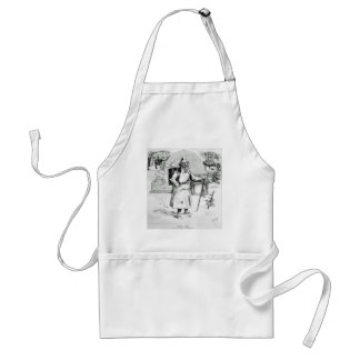canadian santa 1875 adult apron