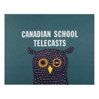 Canadian School Telecasts Panel Wall Art