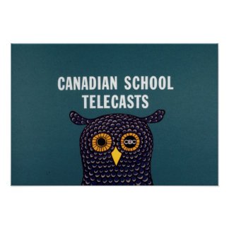 Canadian School Telecasts Poster
