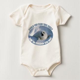 Canadian Seal Hunt Baby Baby Bodysuit