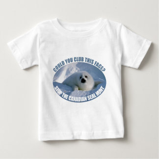 Canadian Seal Hunt Baby T-Shirt
