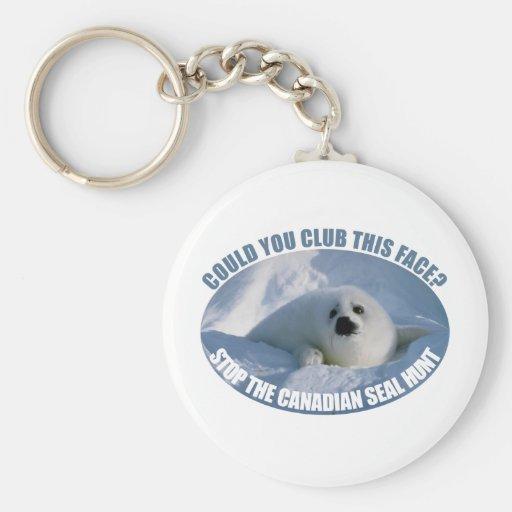 Canadian Seal Hunt Keychain