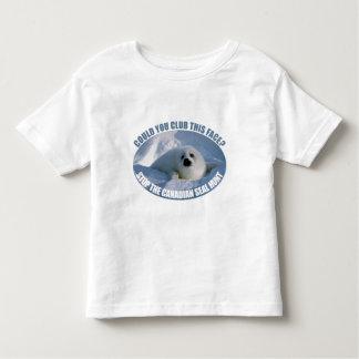 Canadian Seal Hunt Toddler T-Shirt