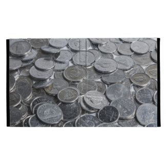 Canadian Silver Coins iPad Case