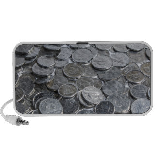 Canadian Silver Coins Portable Speakers