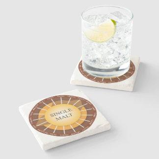 Canadian Single Malt Whisky Marble Coaster Stone Beverage Coaster