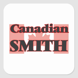 Canadian Smelter Square Sticker