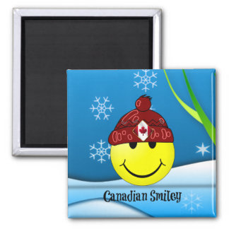 Canadian Smiley Magnet