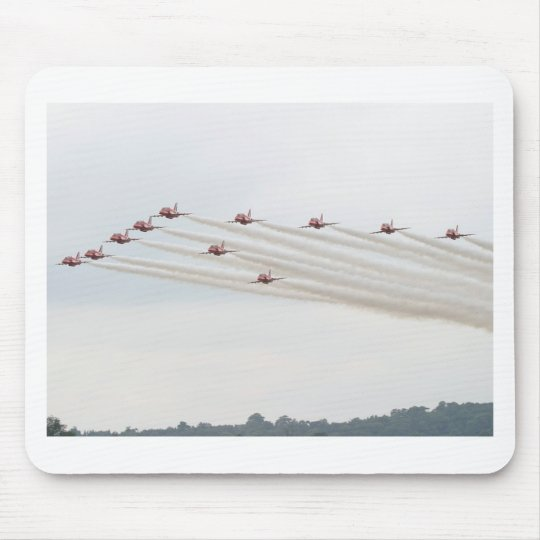 CANADIAN SNOWBIRDS FORMATION MOUSE PAD